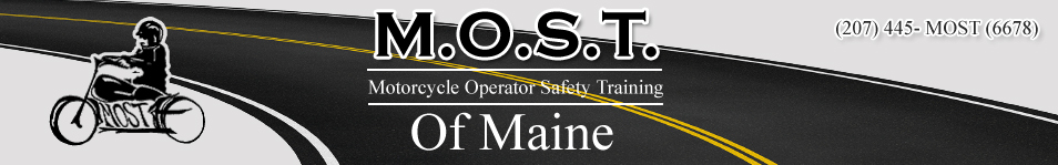 Most of Maine Motorcycle Safety Courses